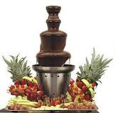Chocolate Fountain rental in miami